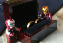 When ironman comes to beauty.. by Serenity wedding organizer