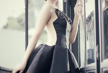 The ethnic black dress by Windia Wijaya by windia wijaya