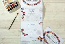 Bespoke designs by Vicky Perry Wedding Stationery