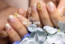Bridalnails  by nails by Caryn