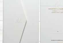 Anthony Marietta Wedding Invitation by Blue Label Invitation