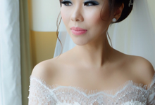Wedding of Mei and Mahesh by Vidi Daniel Makeup Artist managed by Andreas Zhu