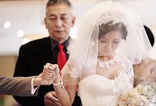 Laurent Kurniawan Wedding Dress by Arthaputri Atelier