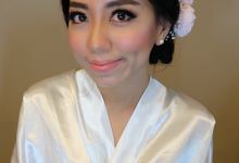 Ms Laura Wedding Makeup by Florence Aryanto