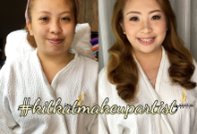 BEFORE AND AFTER by KitKat - Wedding Hair and Make Up Artist