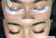 Eyelash extention by AyuAbriyantimakeupartist