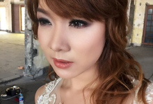 Photoshoot Makeup & hairdo by SaneyArd  by saney ard make up