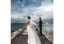 Prewedding of David & Yulia in Bali by Kings Bridal & Tailor