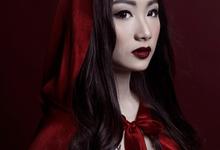 Red Ridding Hood by Christine Lie Make Up Artistry