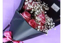 Hand bouquet by Blodwynflorist