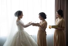 JASON & STEFANI • Glam Champagne by MALVA Bridesmaids