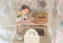 Birthday gift idea (single miniature in a box) by de hijau hejo