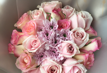 Unicorn Theme Bouquet  by Levian Florisen