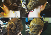 Bridal Hair  by Beautified Hair Designs
