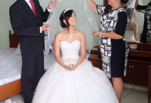 Wedding Day Demien and Cindy by Sasa Carella Professional Makeup Artist