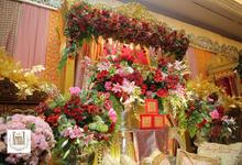 Pelaminan Palembang by Kresna Decoration