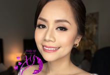 Brides by make up by XY
