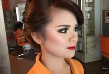Trial makeup & hairdo by YURI Beautify Makeup