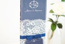 Royal Blue Laces  by Memoir Paperie