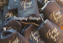 Luke & Prima Wedding by Packy Bag Vintage