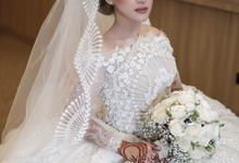 Wedding Hanun & Yusuf by Imel Vilentcia Make Up Artist