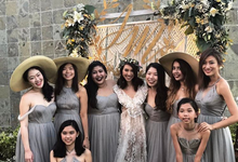 Melissa Koh's Bridesmaids by Juillet