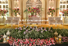 The Wedding of Monica & Irfan by Lili Vicky Decoration