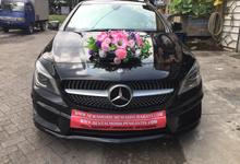 Rental Mercedes Benz CLA 200 Tahun 2015 Black by SENTOSA JAYA VIP WEDDING CARS SURABAYA