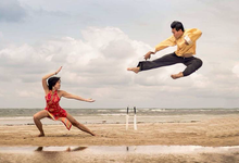 Martial Art Theme Wedding Photography by Nix Studio
