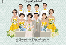 A Gift from the Bridesmaids and the Groomsmen by Poptraits by Stella