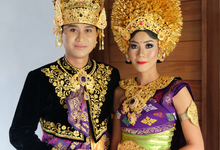 Linda olin wedding by Payas Bali salon