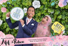 Afif & Riken Wedding by Booth of Moments
