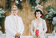 Akad nikah Jasminta Waluyo by Rumah Kebaya by Eva pudjo