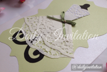 Lace Model by Doily Invitation