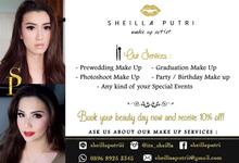 10% Disc Promo ❤❤❤ by Sheilla Putri Makeup Artist