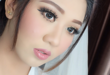 Make up for pretty mrs. Muthia by sherlychairy.mua