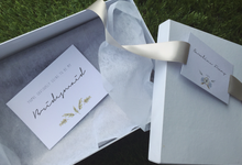 Marcella Prayogi's Bridesmaids Packaging by Palestro Wedding Essentials