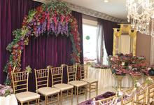 Tasyi  & Syech  Engagement Nov,2014 by latulipe Decoration