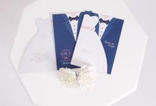 Brian & Neisya Invitation by Toho Cards