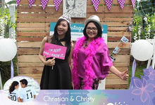 Photo booth Christian & Christie by RTDI Soho Photography