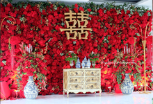 Red Sangjit Dicky & Elzshia by Yulika Florist & Decor