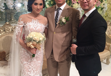 Renhard Cindy Wedding by Serenity wedding organizer