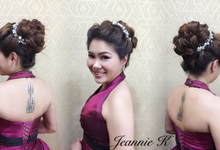 Bridal make up & hair design by Jeannie K Professional Make Up