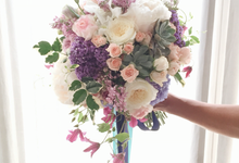 Bridal Bouquet by ARTISTE FLORAL