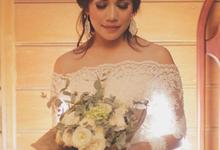 Eva & Faisal Wedding by Nayah Make Up Artist