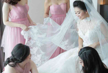 RICKSON & KATRIN. Sweet Pink by MALVA Bridesmaids