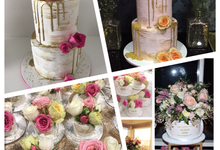 Custom designed wedding cakes . by Cake4me