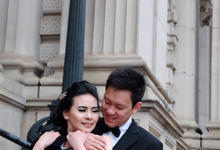Ted & Jazreel Pre-wedding  by Calistaedlyn.MUA