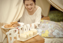 Rustic Tent Dream Styled Shoot by Joie Event Styling