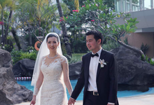 Ronaldie Fara Tie the knot by Serenity wedding organizer